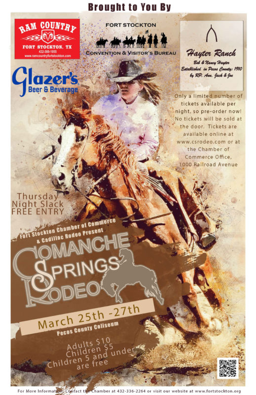 2021 Comanche Springs Rodeo final
