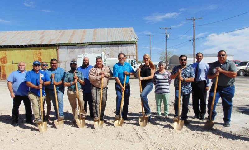 Groundbreaking: City of Fort Stockton Recycling Center 3/16/2021